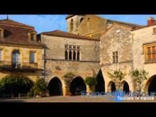 Monpazier, l'un des plus beaux villages de France en Vidéo