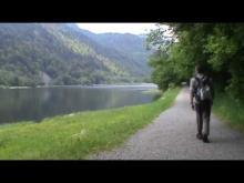 Randonnée au lac de kruth (Alsace) en passant par la cascade du Bockloch