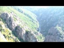 Vidéo des Gorges du Chassezac depuis le belvédère