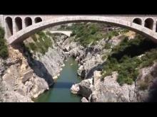 Vidéo dans les gorges de l'Hérault !