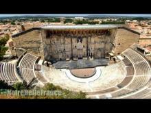 Théâtre antique d'Orange en vidéo