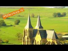 Basilique Notre Dame d'Avioth en vidéo