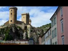 Château de Foix en vidéo