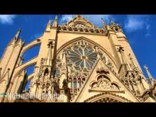 Cathédrale Saint-Étienne de Metz en Vidéo