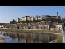 Forteresse royale de Chinon en vidéo