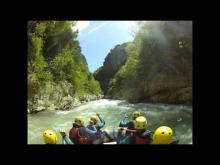 Vidéo pour découvrir les gorges de la vésubie en rafting