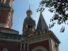 Eglise Orthodoxe de St-Nicolas de Nice en vidéo