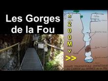 Vidéo des Gorges de la Fou