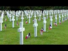 Le Cimetière et le Mémorial Américains de Normandie en Vidéo