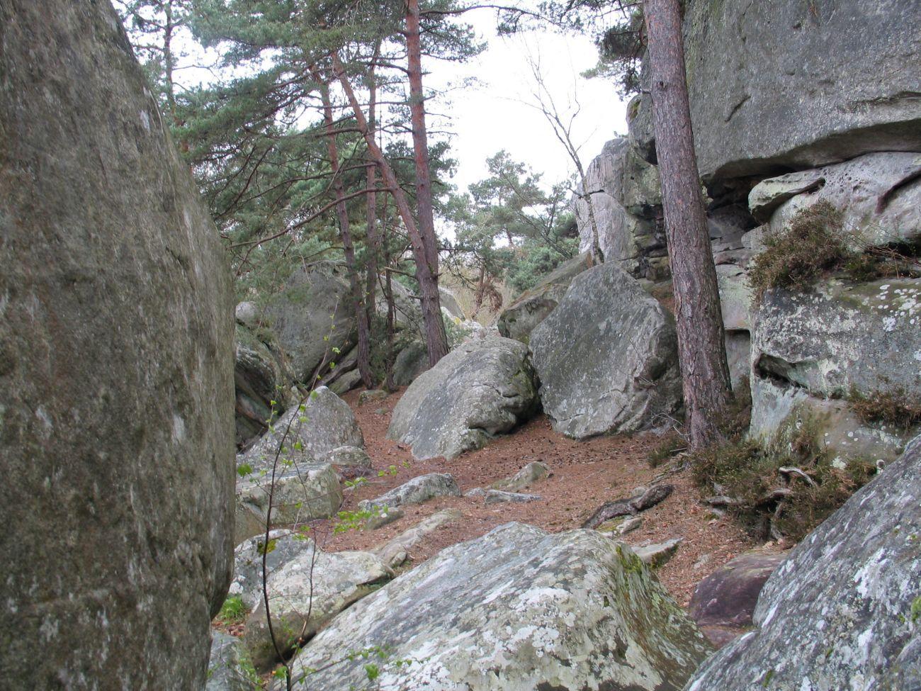 Les rochers de Malesherbes
