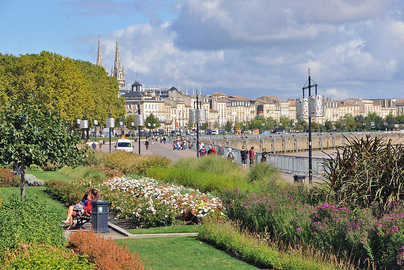 Bordeaux, Port de la Lune Par Olivier Aumage CC BY-SA 2.0 via Wikimedia Commons