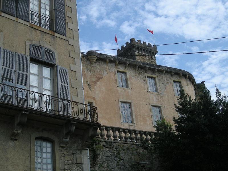 Château Chalabre By Ji-Elle (Own work) [Public domain], via Wikimedia Commons