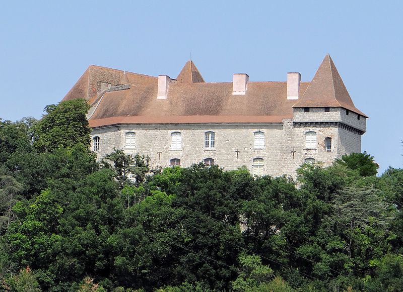 Château de Goudourville By MOSSOT CC BY-SA 3.0 via Wikimedia Commons