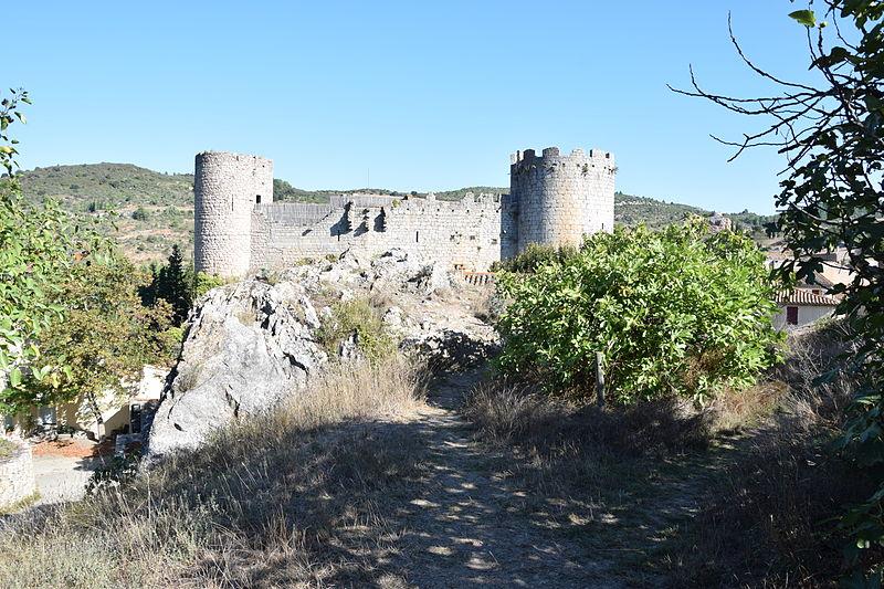 Le Château de Villerouge-Termenès By Tournasol7 CC BY-SA 3.0 Wikimedia Commons