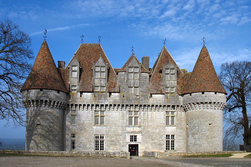 Le Château de Monbazillac Par Monster1000  CC BY-SA 2.5-2.0-1.0 via Wikimedia Commons