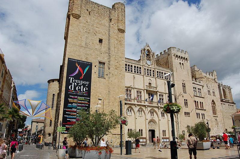 L'Ensemble Médiéval de Narbonne Par Cvromans CC BY-SA 3.0 via Wikimedia Commons