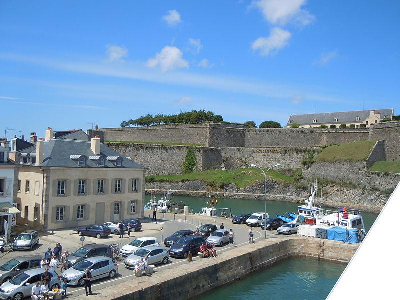 Citadelle de Belle-ile-en-Mer By Patrice78500 CC BY-SA 3.0 via Wikimedia Commons