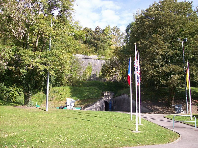 Citadelle souterraine de Verdun By Coenen CC BY-SA 3.0 via Wikimedia Commons