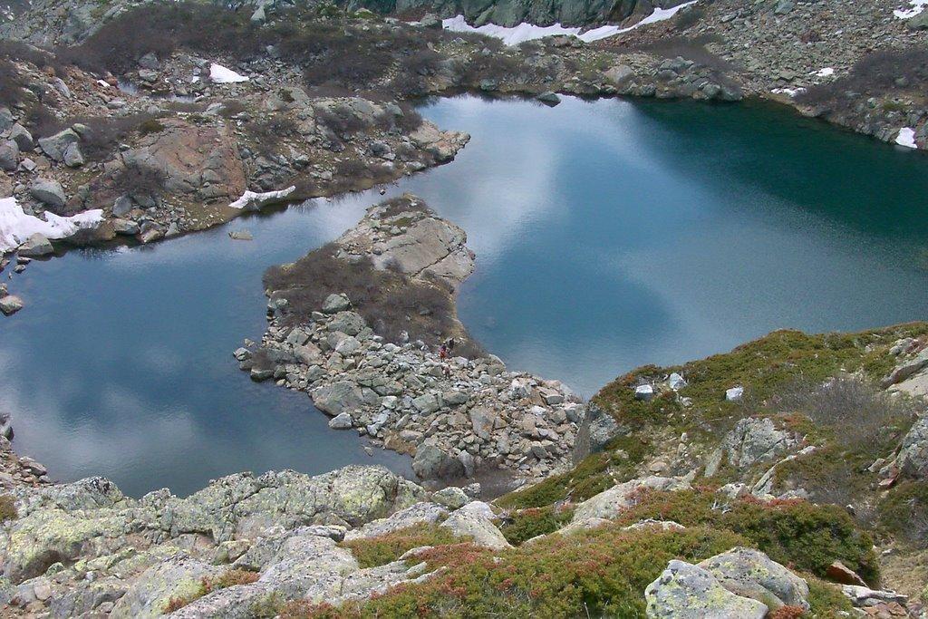 Le lac de Bracca