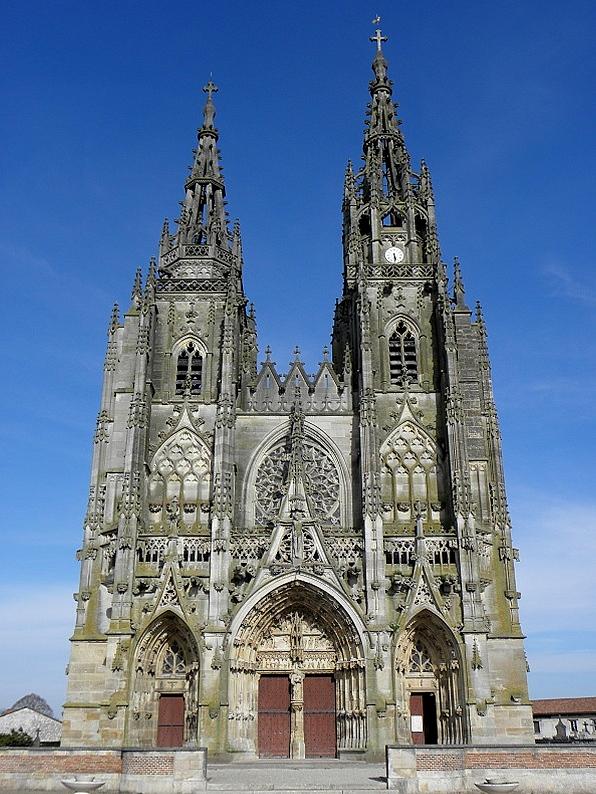 Basilique de L'Epine By GO69 via Wikimedia Commons