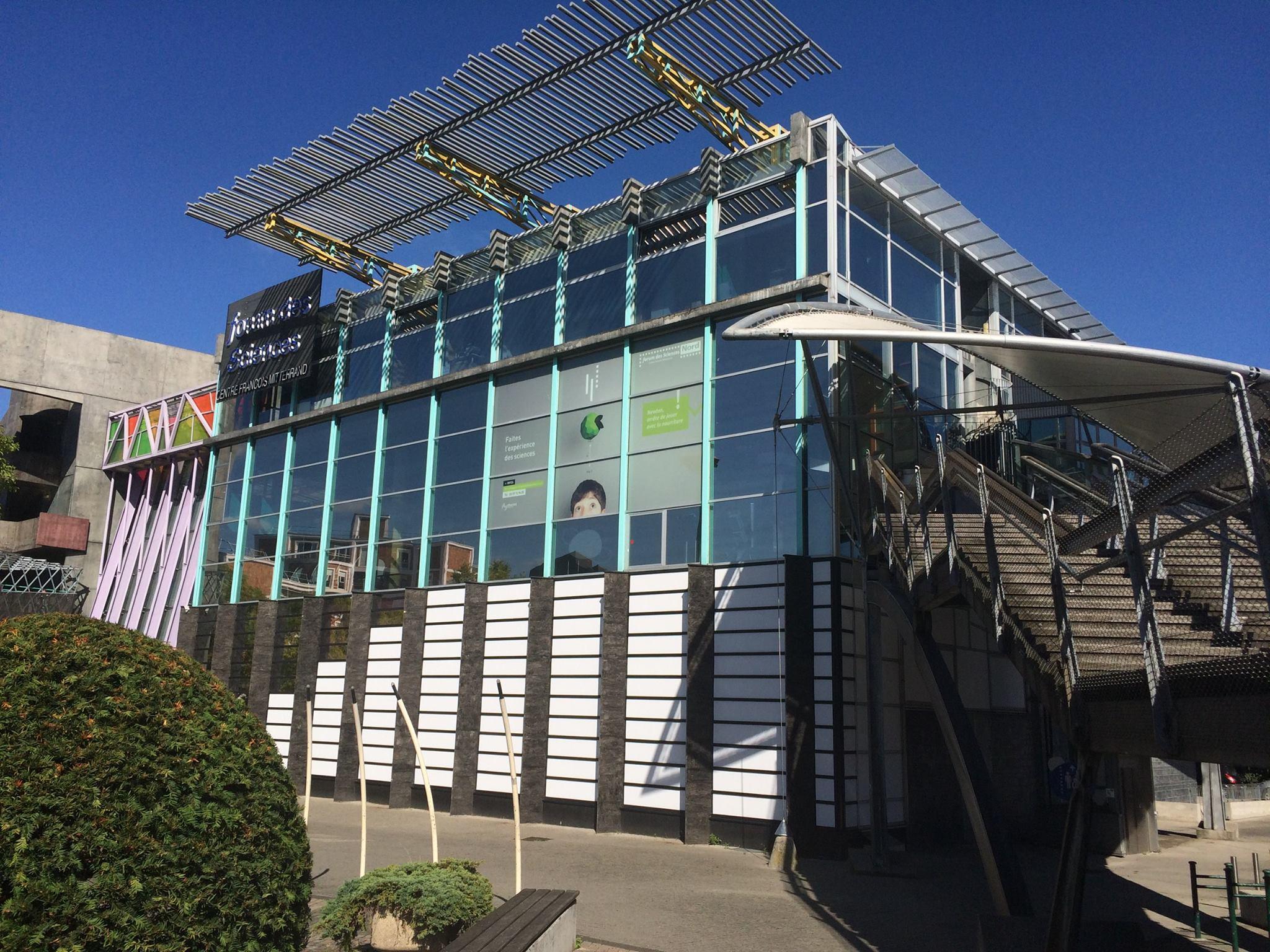 Le Forum départemental des sciences de Villeneuve-d'Ascq