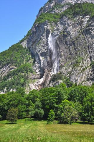 Cascade de l'Arpenaz - Massif de Sixt Passy