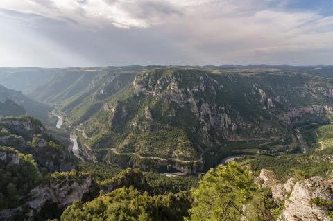 Panorama du Roc des Hourtous Photo: Myrabella/Wikimedia Commons, via Wikimedia Commons