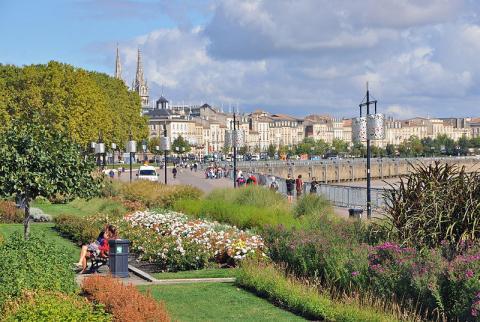 Bordeaux, Port de la Lune Par Olivier Aumage CC BY-SA 2.0 via Wikimedia Commons