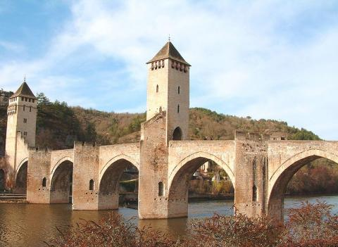 Pont Valentre By Greudin at fr.wikipedia [FAL], from Wikimedia Commons