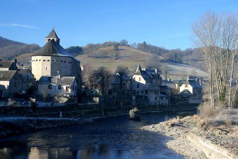 Sainte-Eulalie-d'Olt (source : wiki)