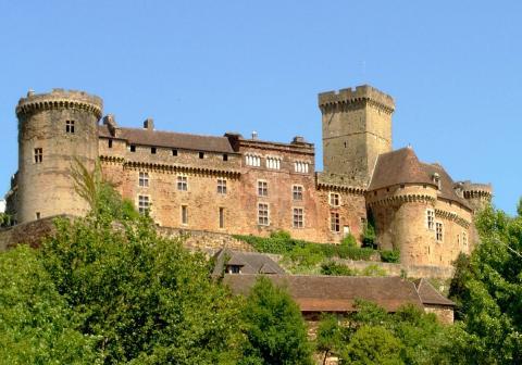 Castelnau Bretenoux By Luna04 CC-BY-SA-3.0 via Wikimedia Commons