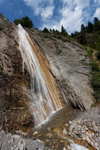 La cascade de Chaumie (source : panoramio)