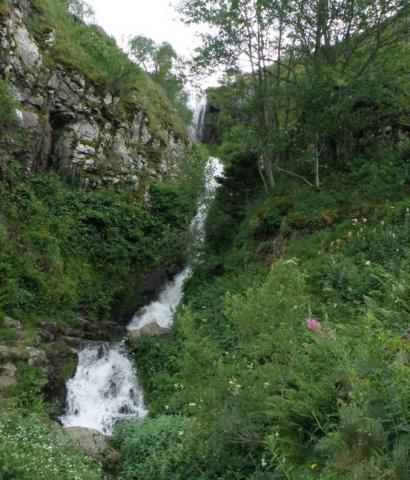 La cascade du Salin ou de Chaudeyrolles
