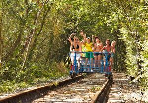 Velo-Rail du Bocage photo de velorail-vendee.fr