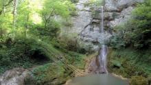 La cascade de la Quinquenouille