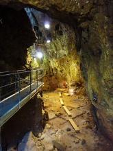 La grotte du Lazaret
