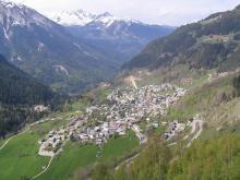 Champagny en Vanoise via wikimedia commons
