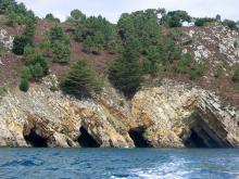 Les grottes de Morgat à Crozon