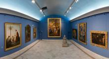 Salle des grands tableaux © Service Communication, Communauté urbaine d'Alençon