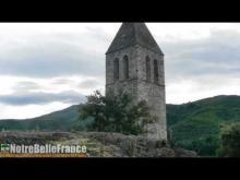 Olargues, village perché anciennement fortifié en vidéo