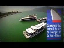 Bateaux du lac du Bourget et du Haut-Rhône en vidéo
