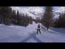 Puy Saint-Vincent en vidéo