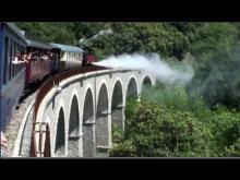 Train à vapeur des Cévennes en vidéo