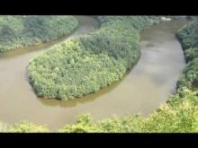 Vidéo du Méandre de Queuille