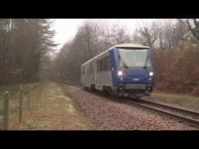 Train touristique du Blanc Argent en vidéo