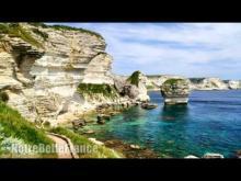 Vidéo sur les falaises de Bonifacio