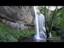 Vidéo de la Cascade de la Beaume