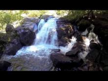 Vidéo La cascade de la Pisserotte