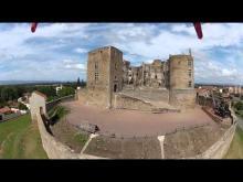 Château de Montrond-les-Bains en Vidéo