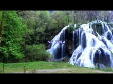 Vidéo la cascade Baume les Messieurs